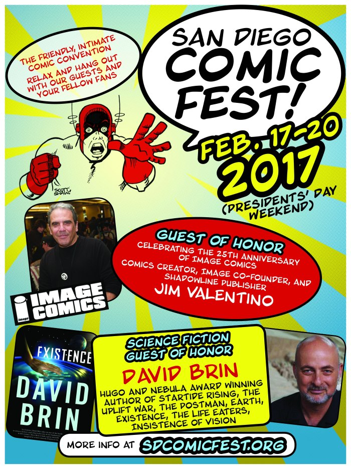 San Diego Comic Fest's Matt Dunford on the Convention, Jack Kirby's 100th Birthday, and of course Comics.