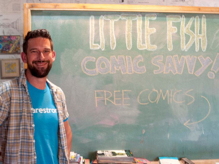 San Diego's Little Fish Comic Studio Is Educating A New Generation of Fans, Artists, and Writers