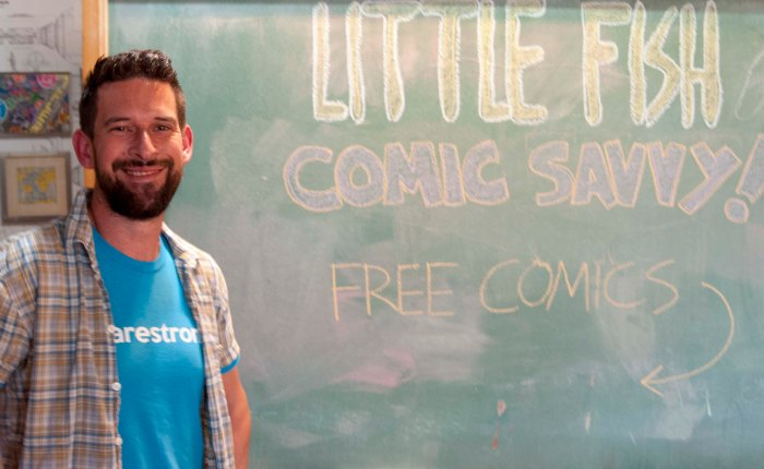 San Diego's Little Fish Comic Studio Is Educating A New Generation of Fans, Artists, andWriters